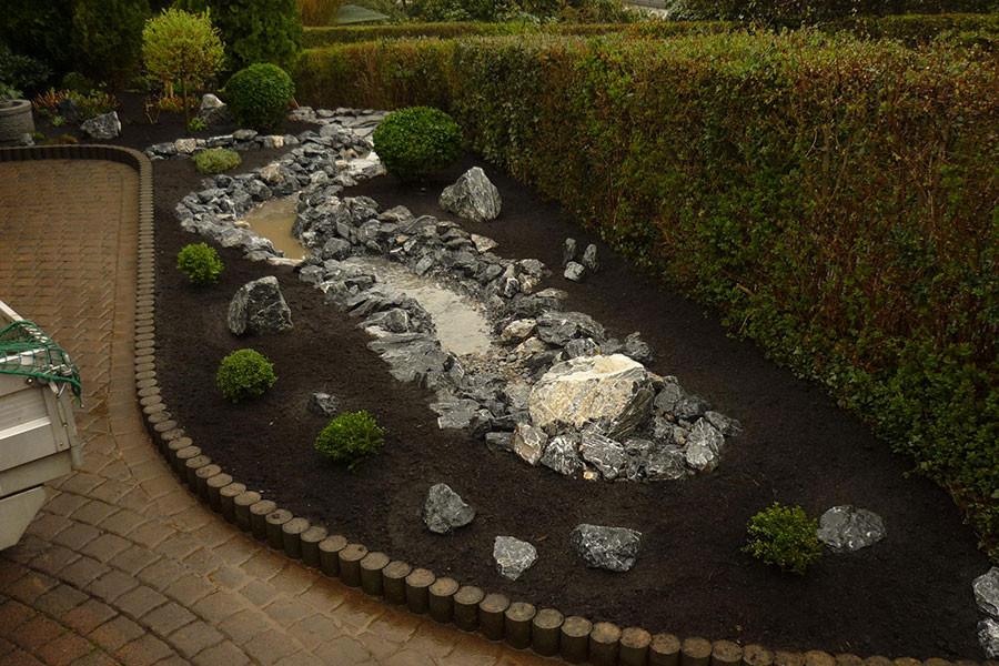 Gartengestaltung Reihenhaus Pool Images. Vorgarten Reihenhaus